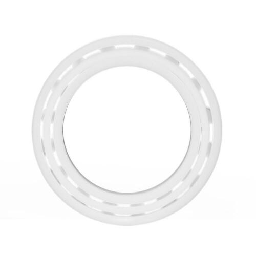 1pcs White High Precision Full Ceramic Miniature ZrO2 Ball Bearing inm