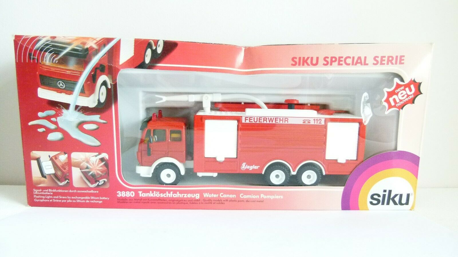 Siku Special Series Water Canon - Boxed