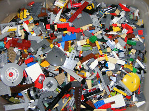 2-POUNDS-OF-LEGOS-Bulk-lot-Bricks-parts-pieces-Star-Wars-City-Etc-100-Lego