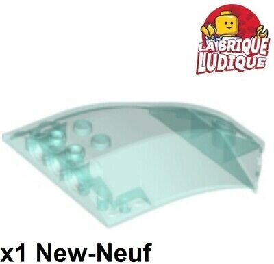 Lego 1x Windscreen 8x6x2 windshield blue trans Trans light blue x224 NEW