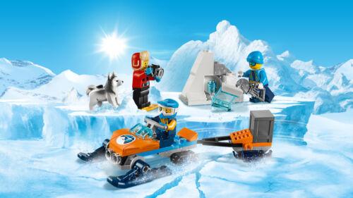 LEGO City 60191 Arktis-Expeditionsteam Les explorateurs Exploration Team N7//18