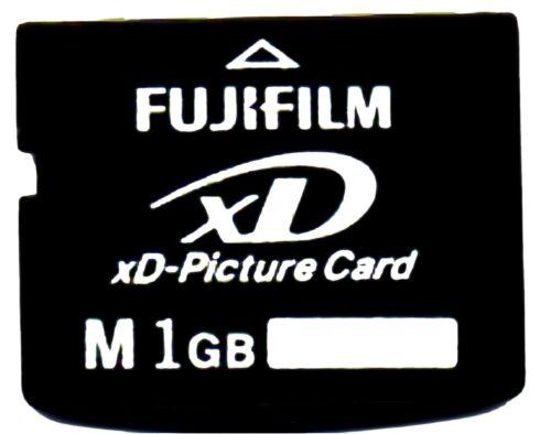 Auténtica 1GB FUJIFILM xD Picture Card-Hecho en Japón por TOSHIBA-OLYMPUS FUJI