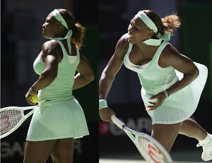 S o de Mint tenis Peque Impresionante Green pliegues Serena Nike Vestido Williams zFPnH