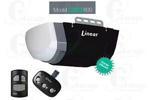 Image Is Loading Linear Garage Door Opener Residential Ldco800 Dc Ultra