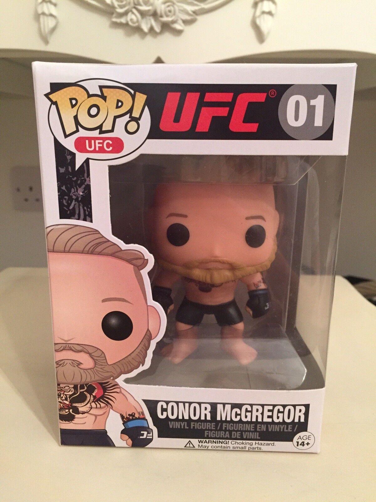 Black Shorts 01 UFC: Conor McGregor Funko Pop Pop UFC Vaulted
