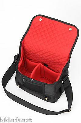 Artisan & Artist 3WC PR 010 schwarz Designer Kameratasche Camera Bag Leica T