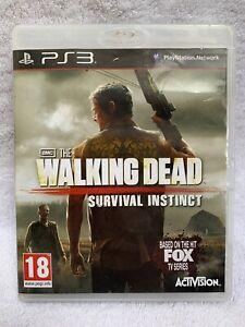 The Walking Dead instinto de supervivencia Playstation PS3 completo pal probado Gratis P + P