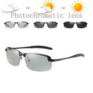 c1cecf7ec71ce Image is loading Mens-Photochromic-Sunglasses-Polarized-Transition-Glasses- Driving-Pilot-