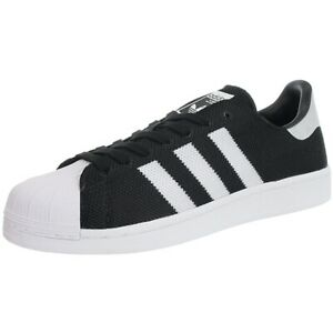 adidas superstar mens black and white