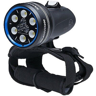Light & Motion SOLA DIVE 1200 S F Spot and Flood Submersible Lamp