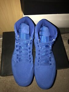 tamaño Uk8 Air 1 High Jordan Blue Retro Nike 5 nuevo Royal 8Oxz1z