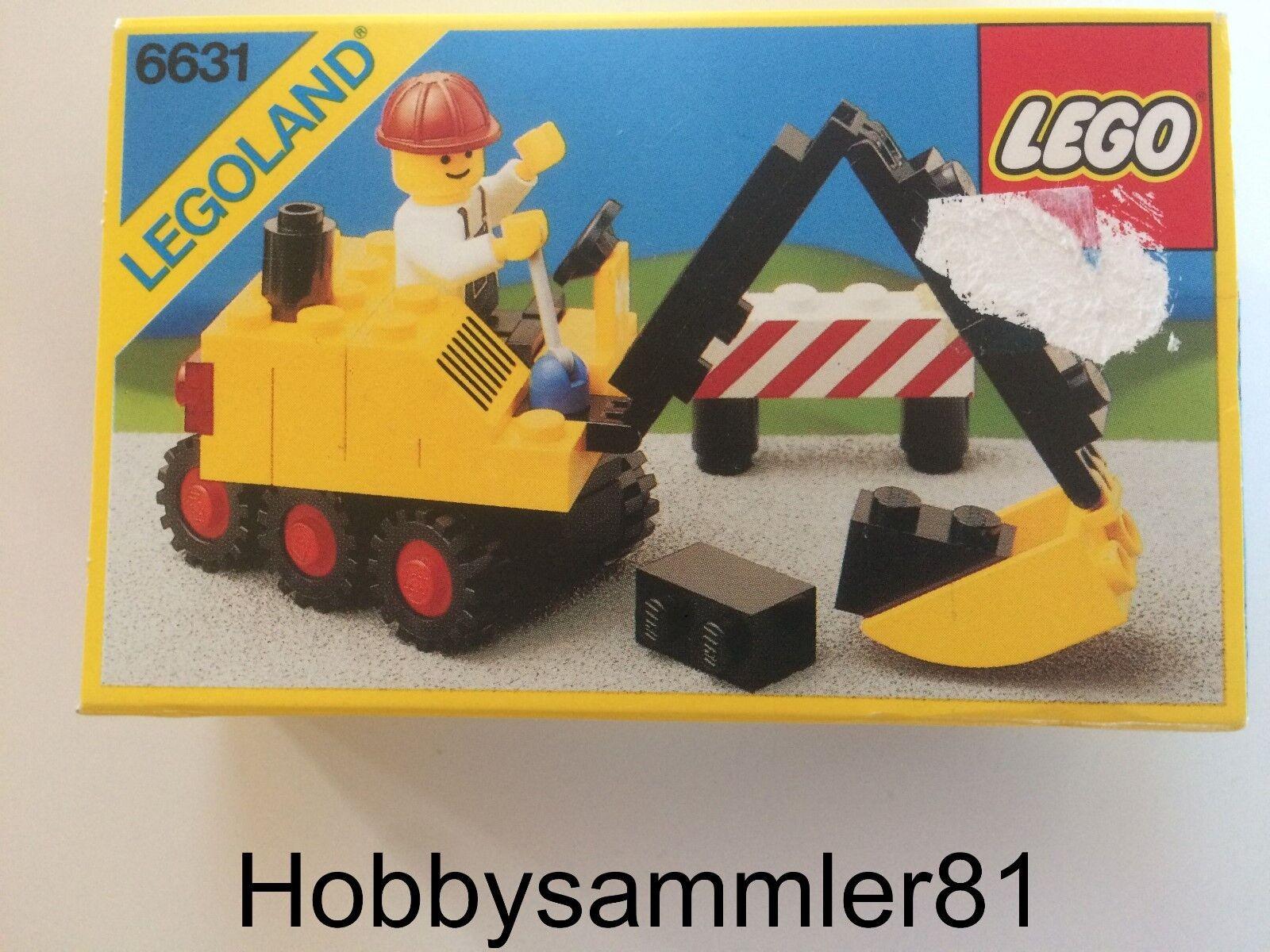 Lego® 6631 Legoland Steam Shovel   Dampf Mini Bagger   Neu und OVP