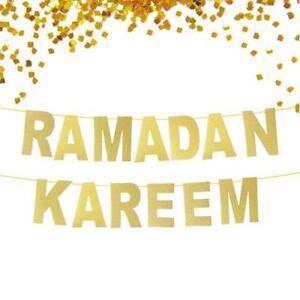 Gold-Lettre-Ramadan-Kareem-Fete-Bunting-Garland-Banniere-Home-Supplies-Decor-A-faire-soi-meme