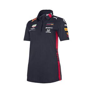 Nouveau! 2019 Red Bull Racing F1 Formula One Femmes Team Polo Shirt Pour Femme Filles-afficher Le Titre D'origine