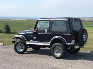1983 Jeep CJ Laredo