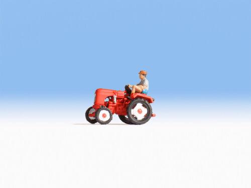 NOCH 16755 Spur H0 Figuren Traktor Allgaier #NEU in OVP#