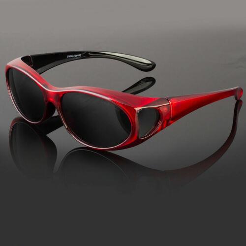 Cover Put Over Polarized Anti Glare Sunglasses Wear Rx Glass Fit Driving Medium