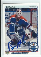 Bill Ranford Signed 1990/91 Upper Deck Card #42