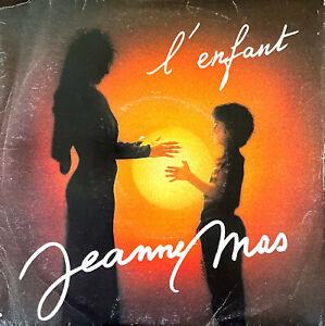 """Jeanne Mas 7"""" L'Enfant - Imprimerie à droite - France"""