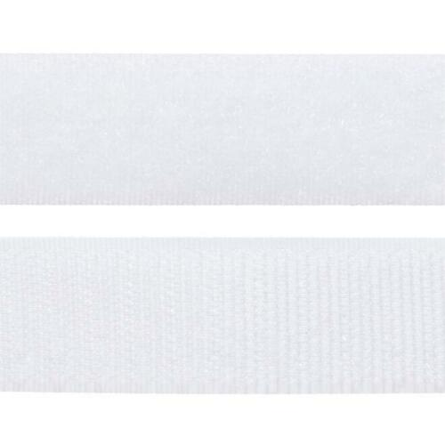 VELCRO Genuine Brand Sew On White 1 Mt X 25mm 2.5cm Brandnew