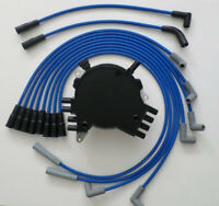 Chevy Corvette 92-94 Lt1 5.7l 350 Optispark Distributor & Blue Spark Plug Wires