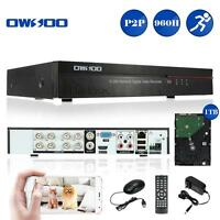 Standalone 8ch Channel 960h/d1 Hdmi Dvr Security System With 1tb Hard Drive R3p4