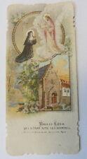 canivet santino holy card  immaginetta sacra Ste Marguerite Marie
