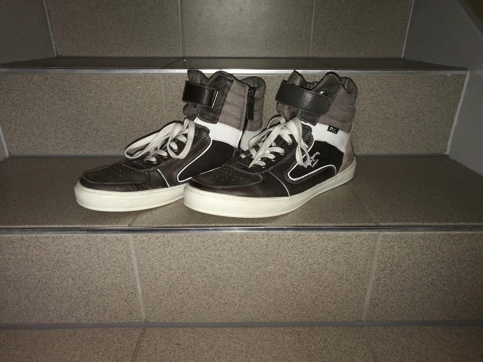 Pepe Jeans Sneaker Herren Gr. 45, echtes Leder wie wie Leder Neu 2e70d5