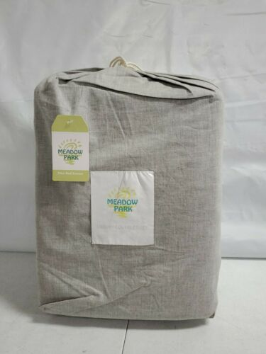Details about  /Meadow park Premium Cotton Matelasse Coverlet /& Matching Pillow Shams Gray Z538