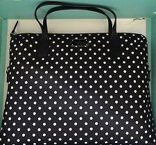 Kate Spade New York Daveny Classic Nylon Laptop Case Bag In Diamond DoTs NWT