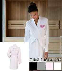 Ladies-Cotton-Jersey-Dressing-Gown-Robe-for-Hen-Nights-Wedding-amp-Bridal-Party