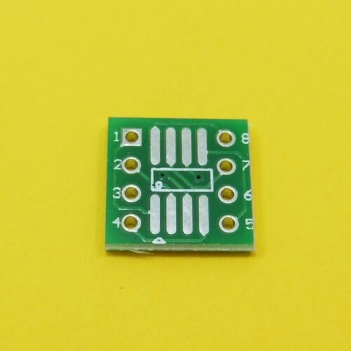 PCB Adapter Board with Pins SOP SO TSSOP SOT QFP LQFP to DIP Converter Plate