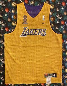 Rare Vintage Nike NBA Los Angeles Lakers Kobe Bryant Reversible ...