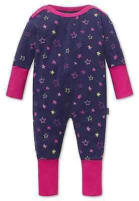 SCHIESSER Baby Anzug Vario Strampler SMILEYS 56 68 74 80 86 92 Schlafanzug NEU