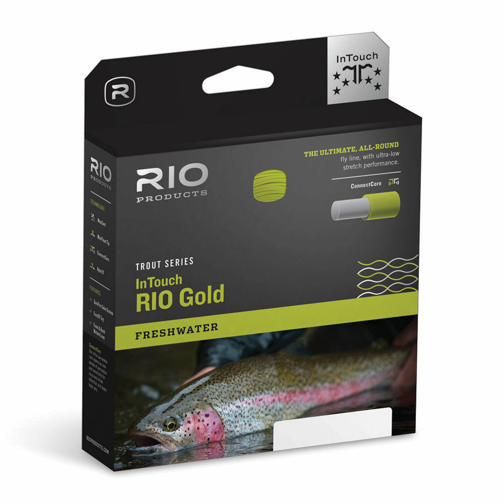 RIO gold IN TOUCH INTOUCH NEW WF-8-F WEIGHT FORWARD FLOATING FLY LINE