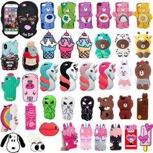 3D-Cartoon-Unicorn-Bear-ice-cream-Silicone-Case-For-iPhone-XS-Max-XR-X-6-7-8