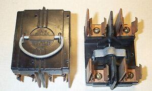 american 60 amp main switch fuse panel pull out fuse holder vintage rh ebay com 60 Amp Automotive Fuse 100 Amp Fuse Box