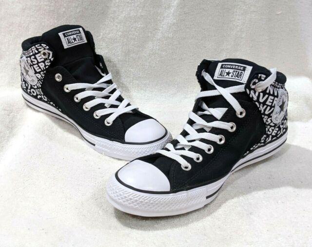 converse high street black