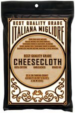 Best Quality Cheesecloth 43 Sq Ft *Chef Premium FOOD GRADE 60* FREE Shipping!