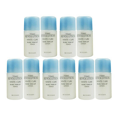 MISSHA Time Revolution White Cure Blanc Tone Up Toner & Lotion 5ml x 5set 10pcs