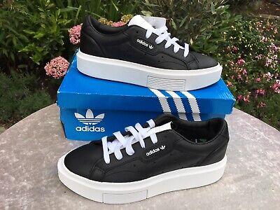 New In Box Adidas Sleek Super Black