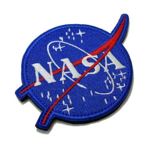 American Space Agency NASA Shoulder Emblem Embroidered Morale Patch DIY Badge