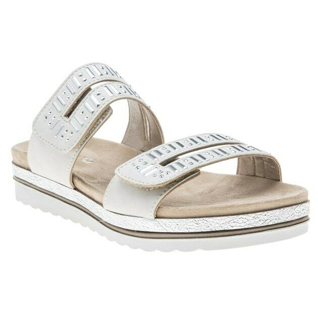 New WOMENS LOTUS WHITE WHITE WHITE NATURAL HALLEY SYNTHETIC