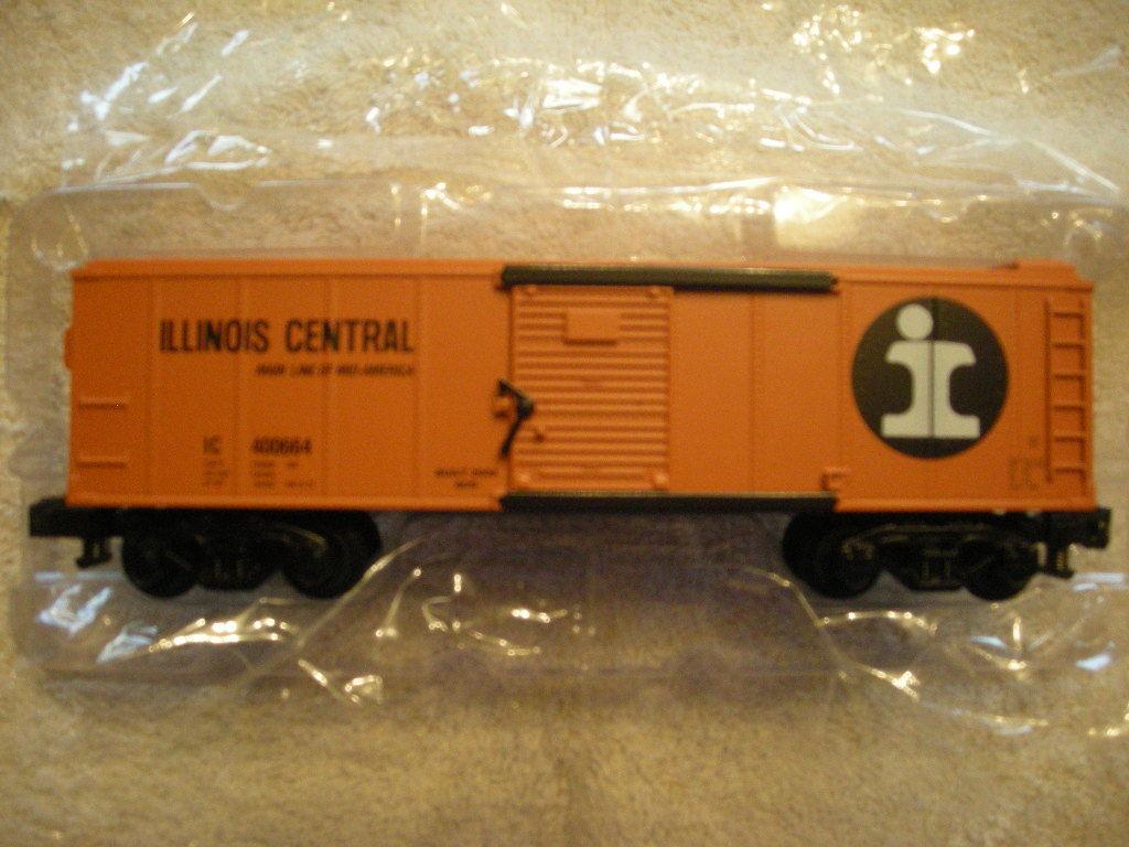 48378 Illinois Central Furgón Nuevo En Caja