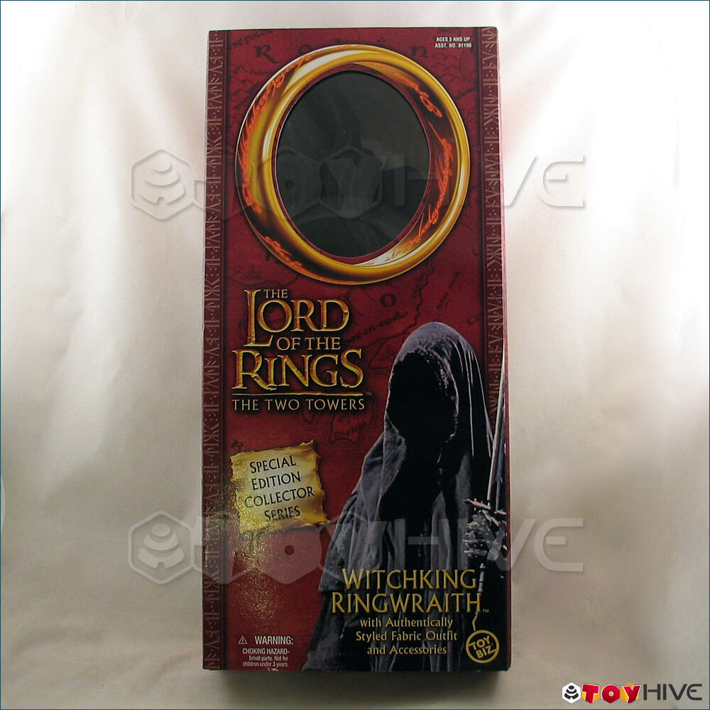 Lord of the Rings Two Towers Witchking Ringraith 12 inch collector series