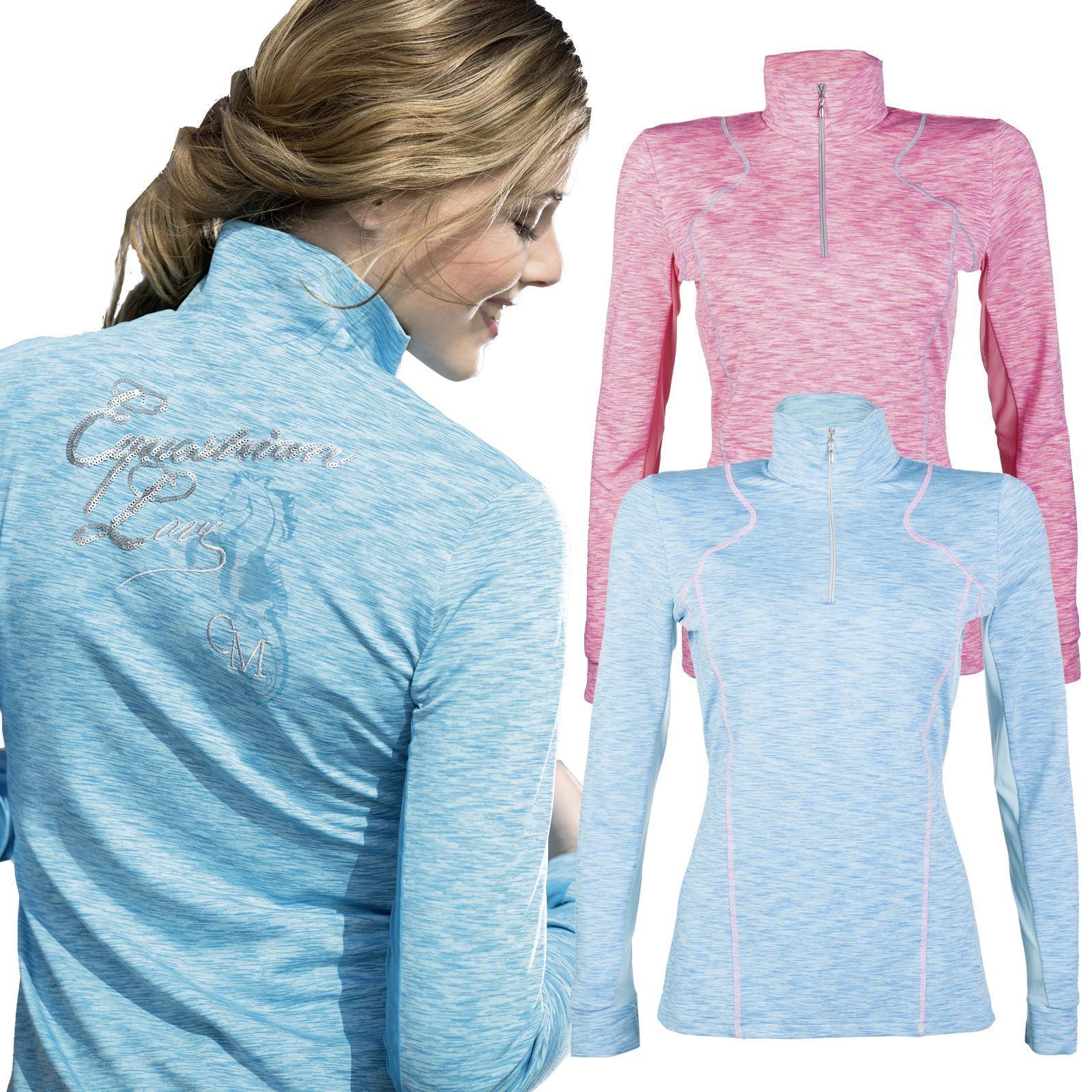 Cavallino Marino Rimini Shirt - Ladies Breathable Horse Riding Stretch Function