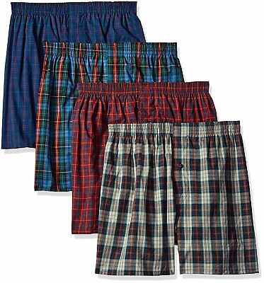 4 Pack Fruit of the Loom Mens Premium Woven Boxer