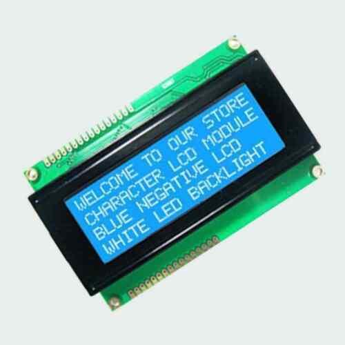 Standard 20X4 204 2004 Carattere LCD Modulo Display LCM BIANCO SU BLU