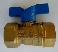 Jomar 101-404 T204 Ff 3/4 Gas Ball Valve 2pc Threaded 600 Wog Qty 1