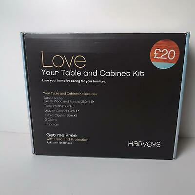 Harveys Love Your Table And Cabinet Kit Care For Your Furniture Protection Kit Ebay